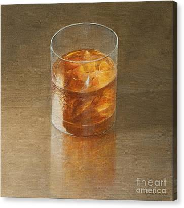Glass Of Whisky 2010 Canvas Print by Lincoln Seligman