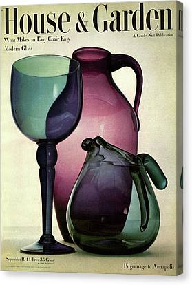 Glass Pieces By Benko Canvas Print