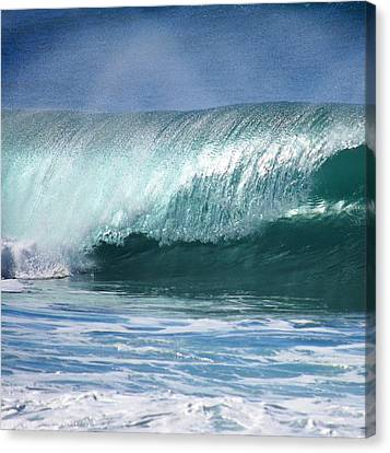 Glass Pipeline Canvas Print by Kevin Smith