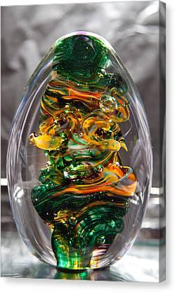 Glass Sculpture Go1  Canvas Print