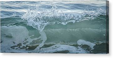 Canvas Print featuring the photograph Glass Wave by Kevin Bergen