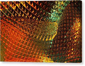 Invigorate - Glass Works 16 Canvas Print