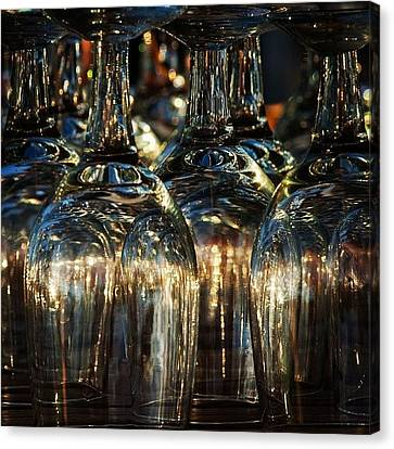Still Life Canvas Print - Glasses by Hitendra SINKAR