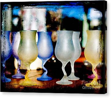 Glassware Canvas Print by Bobbi Feasel