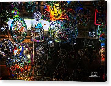 Glassy Colors Canvas Print by Dan Quam