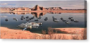 Glen Canyon Panorama Canvas Print by Adam Jewell