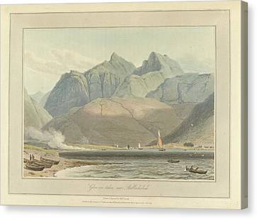 Glen-coe Canvas Print by British Library