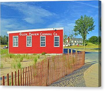 Glen Haven Canning Co. Canvas Print
