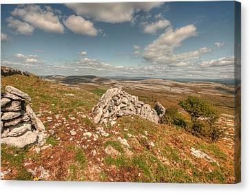 Glen Hill View Canvas Print by John Quinn