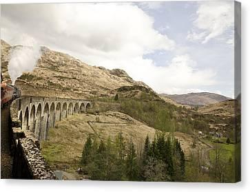 Glenfinnan Train Viaduct Scotland Canvas Print