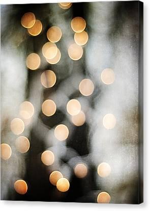 Glimmer Canvas Print by Carolyn Cochrane