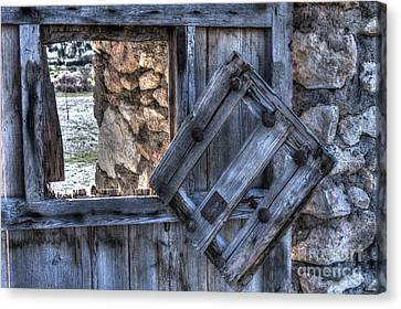 Glimpses Of Times Past Canvas Print by Heiko Koehrer-Wagner