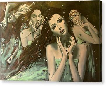Glissando Canvas Print by Dorina  Costras