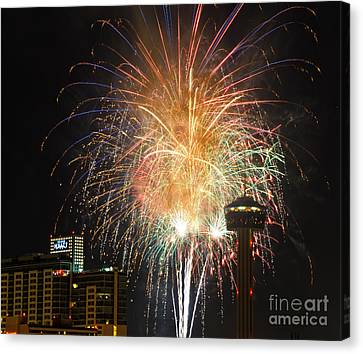 Glitter In The Sky Canvas Print