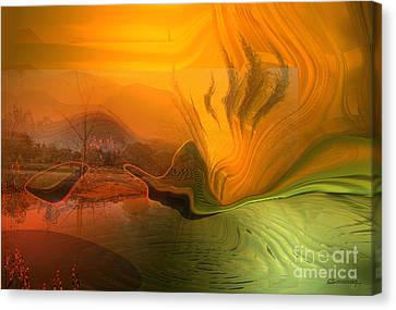 Global Warming Canvas Print by Christian Simonian
