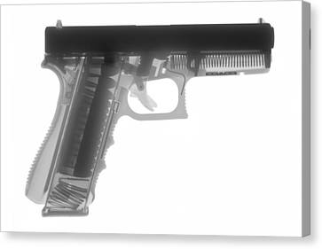 Pistol Canvas Print - Glock G17 by Ray Gunz