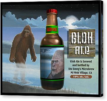 Gloh Ale Canvas Print by Stuart Swartz