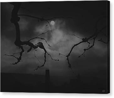 Gloom Canvas Print by Nafets Nuarb