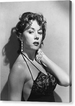 Gloria Canvas Print - Gloria Grahame by Silver Screen
