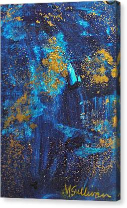 Canvas Print featuring the painting Gloria by Mary Sullivan