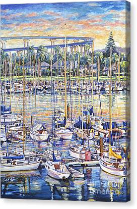 Glorietta Bay Sunrise Canvas Print