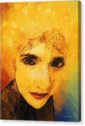 Glorious Crone Canvas Print by RC deWinter