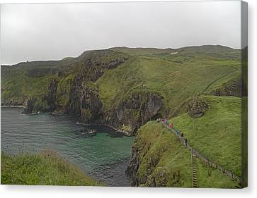 Mystical Landscape Canvas Print - Glorious Day Northern Ireland by Betsy Knapp