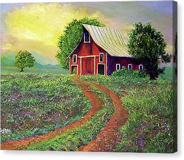 Glorious Day On The Farm Canvas Print