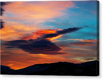 Glorious Morning- Helena Mt Canvas Print by Kevin Bone