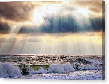 Glorious Sky Canvas Print by Vicki Jauron