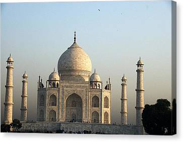 Glorious Taj Canvas Print by Rajiv Chopra
