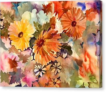 Glorius Beauties Canvas Print by Neela Pushparaj