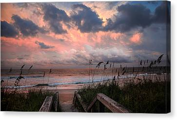 Glory Of Dawn Canvas Print