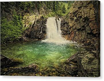 Canvas Print featuring the photograph Glory Pool by Priscilla Burgers