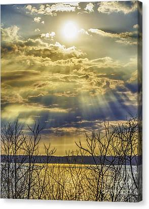 Glory Rays Canvas Print