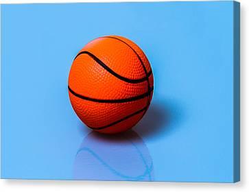 Glory To Basketball Canvas Print by Alexander Senin