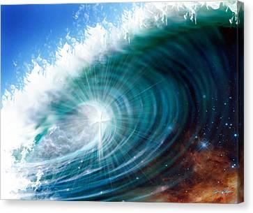 Glory Waves Canvas Print