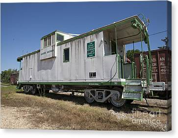 Gloster Caboose Canvas Print by Russell Christie