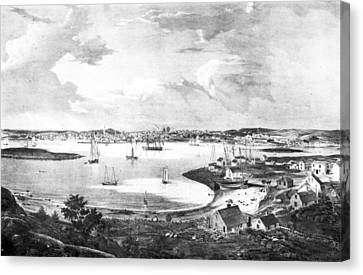 Gloucester, C1835 Canvas Print by Granger