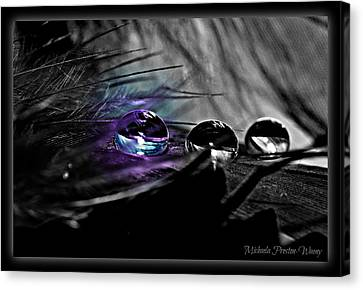 Canvas Print featuring the photograph Glow In The Dark by Michaela Preston