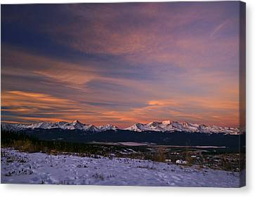 Glow Of Morning Canvas Print by Jeremy Rhoades