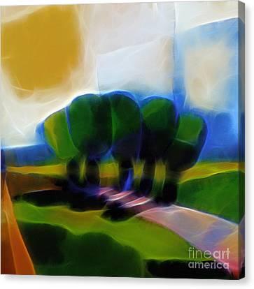 Glowing Day Canvas Print by Lutz Baar
