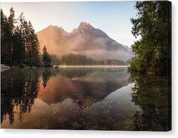 Glowing Mist Canvas Print