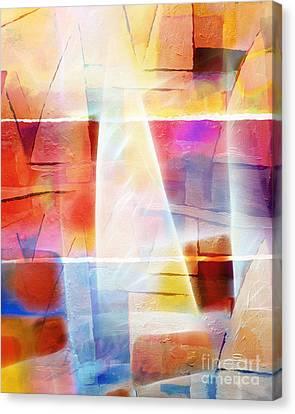 Glowing Sea Canvas Print by Lutz Baar