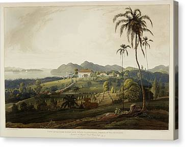 Glugor House And Spice Plantations Canvas Print