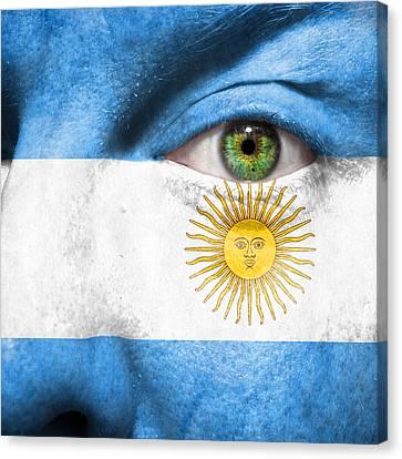 Go Argentina Canvas Print by Semmick Photo