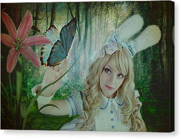 Go Ask Alice Canvas Print by Christine Holding