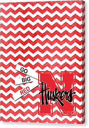 Go Big Red Canvas Print