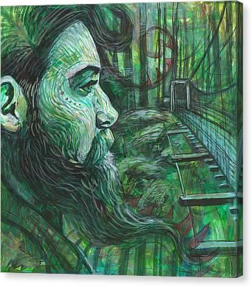 Go Deep Canvas Print by Elizabeth D'Angelo