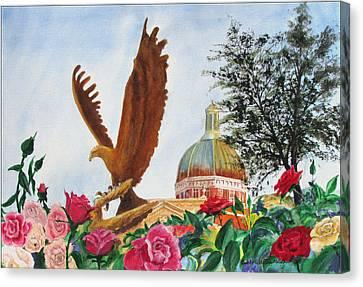 Go Eagles  Canvas Print